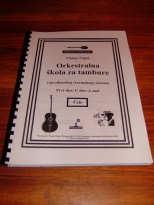 ČELO - ORK. ŠKOLA ZA TAMBURE - CELLO ORCHESTRAL TUTOR BOOK
